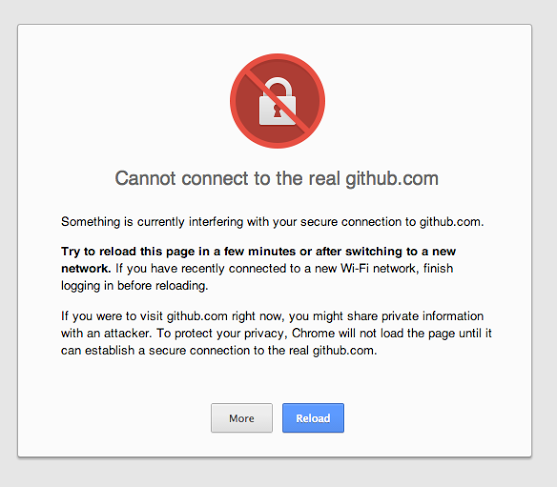 Cannot connect to the real GitHub (SSL problem/error)